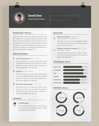 Creative Graphic Design Resume Templates Gentileforda Com