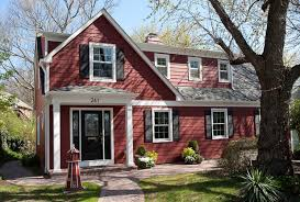 exterior paint colors8 Homes With Exterior Paint Colors Done Right