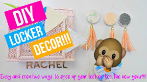 easy and fun back to school locker decorations 2016 2017 ready4schoolwithrachel