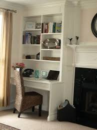 home office built in. Awesome Built In Cabinet And Desk For Home Office Inspirations 53 L