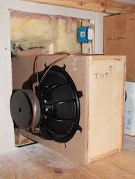 infinite baffle subwoofer project
