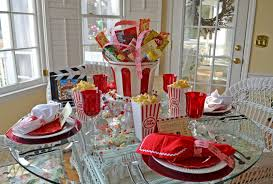 Decorations:Amazing Setup Of Party Table Decor Ideas With Colorful Style  For Kids Simple Rounded