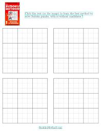 Printable Blank Sudoku Template Download Them Or Print