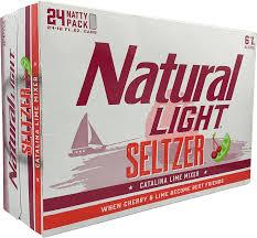 Catalina Lime Mixer Natural Light Natural Light Seltzer Catalina Lime Mixer 24pk Cans