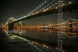 Brooklyn Bridge Lights Brooklyn Bridge Lights Photography Nyc Howard Digital