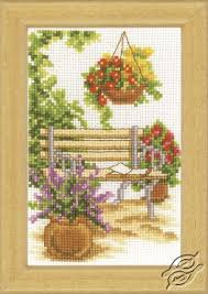 Vervaco Cross Stitch Charts Cross Stitch Kits Vervaco Flowers Gvello Stitch