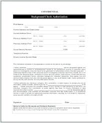 Background Check Authorization Form Simple Resume Background Check Background Check Consent Forms Rental P On