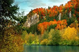 autumn mountains backgrounds. Autumn Mountain Desktop Wallpaper 08237 Mountains Backgrounds N