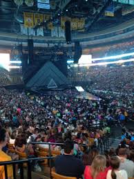 seating view for td garden section loge 8 row 19 seat 21