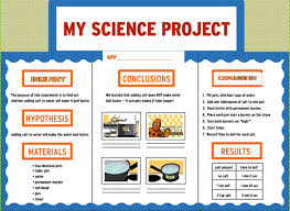 science fair project how do i do a science fair project