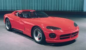 Detroit Auto Show Throwback: The Dodge Viper - The Drive
