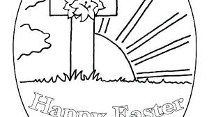 Religious Easter Coloring Pages Printable Preschool Religious