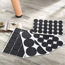 FireBee Rubber Furniture Pads Non Slip Heavy Duty Adhesive