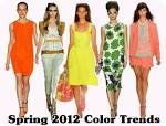 The 5 hottest colors for spring