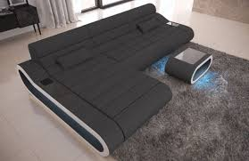 L Couch Stoff