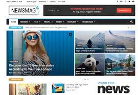 Wordpress Template Newspaper Best News Editorial Wordpress Themes Web3canvas