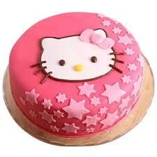 Hello Kitty Shape Cake