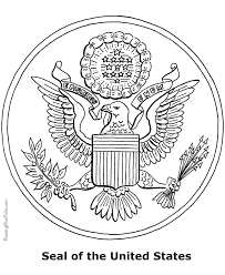 Small Picture Patriotic Symbols Seal of the United States 003
