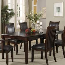 coaster fine furniture ramona wood extending dining table at