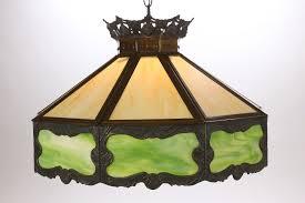 vintage ceiling lighting. P H Marked Lrge 9 Panel Slag Glass Vintage Ceiling Light Fixture Poul Henningsen Lighting L