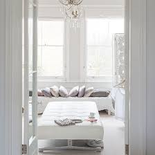 White room ideas Wall White Room With Padded Bech And Mauve Cushions Ideal Home White Bedroom Ideas With Wow Factor Ideal Home