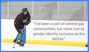 """what gay hockey means to me"" essays published and  logan kirwin"