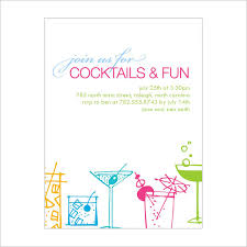 Party Templates 19 Stunning Cocktail Party Invitation Templates Designs Free