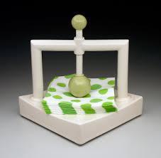 using modern napkin holder  tedxumkc decoration