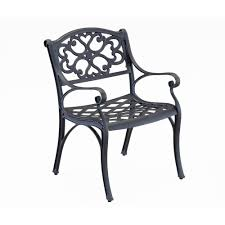 home styles biscayne black patio dining chair 2 pack