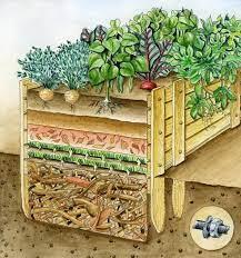 raised bed cross section garden ideas