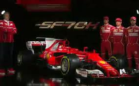 f1 new car releaseFerrari F1 launch Kimi Raikkonen gives new SF70H car its first