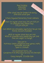 Lights On Afterschool Facts Laker Pack 2019 2020 After School Services Camdenton R