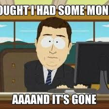 Money Is No More by pagge2k - Meme Center via Relatably.com