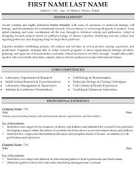 Bioinformatics Resume Sample Scientist Resume Sample Template 30