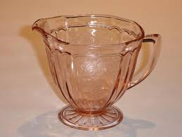 Pink Depression Glass Patterns Simple Pink Depression Glass Pattern Identification And Photos