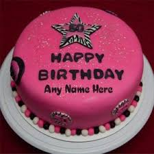 Download Picture On Birthday Cake Abc Birthday Cakes