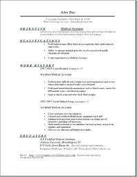 Medical Assistant Resume Examples Example Of Medical Assistant ...