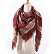 Designer Shawls And Wraps Amazon Com Designer Women Scarf Fashion Plaid Winter