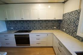 Kitchen Tiles And Splashbacks Creating A Large Kitchen Tile Splashback Tile Kitchen Splashback