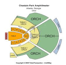 75 Circumstantial Chastain Park Amphitheatre Seating View
