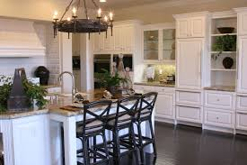 Seamless Kitchen Flooring Kitchens With White Cabinets And Wood Floors Cream Tile Top On The