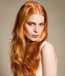 Haarfarbentrend Rote Haare Rotes Haar Rot Und Haar