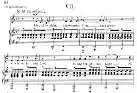 ich grolle nicht sheet music ich grolle nicht op 48 no 7 low voice in c major r schumann