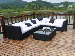 Charm Of Outdoor Rattan Furniture Also Black Wicker Inspirations Black Outdoor Wicker Furniture