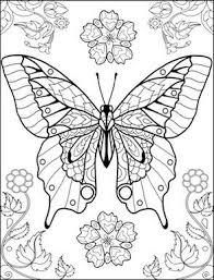 World Of Butterflies Coloring Page Coloring Pages Butterfly