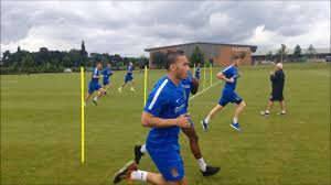 pre season day one running drills on day one of pre season