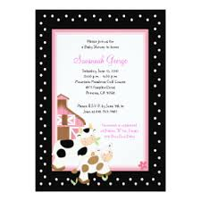 moo invitations moo cow invitations announcements zazzle