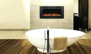 bathroom electric fireplace bath heaters