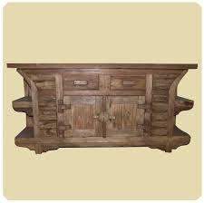 Altholz Lange Kommode Vintage Massivholz Teak Holz Möbel Unikat Pur