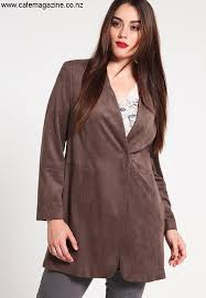 cehce faux leather jacket dark taupe women s jackets detailed qc221h004 b11 eijklsv047